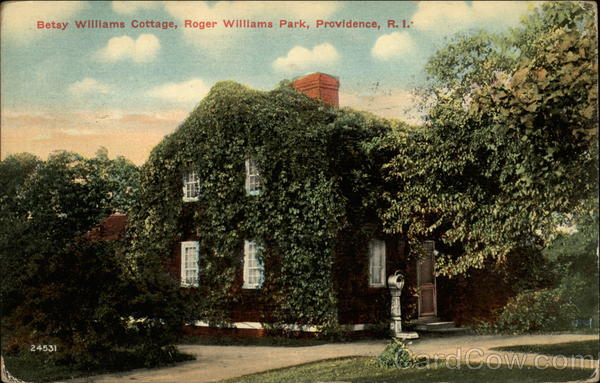Betty Williams Cottage at Roger Williams Park Providence Rhode Island