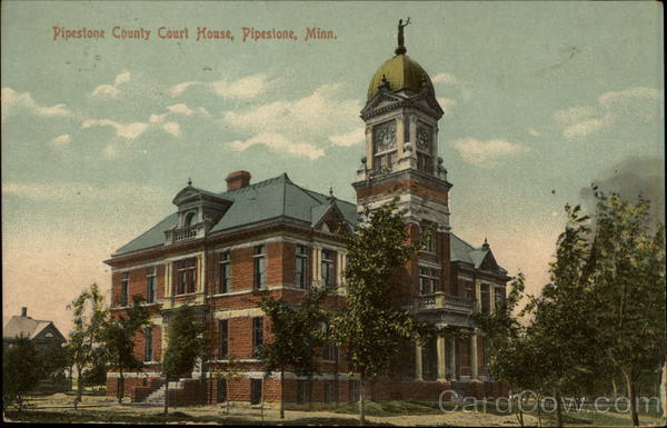 Pipestone County Court House Minnesota