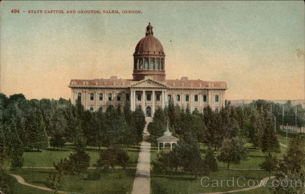 The State Capitol and Grounds Salem Oregon