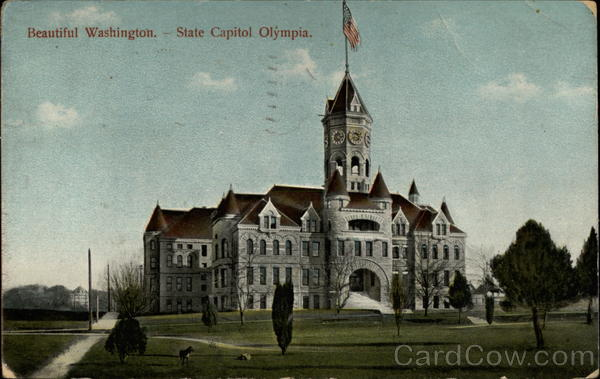 Beautiful Washingtong: State Capitol at Olympia