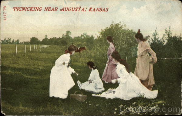 Picnicking Near Augusta Kansas