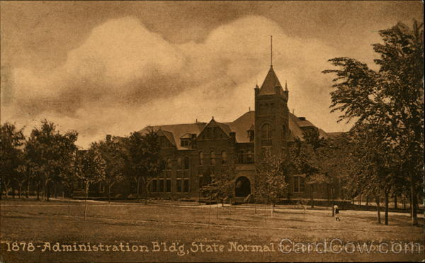 1878 Administration Bldg., State Normal School Lewiston Idaho