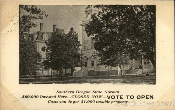 Southern Oregon State Normal School Advertising