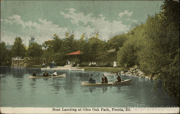 Boat landing at glen oak park peoria il for Oak glen park