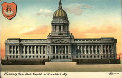 Kentucky New State Capitol Postcard