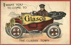 I Want You To Come to Glasco: The Classy Town Postcard