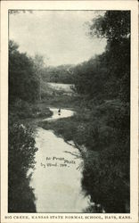 Big Creek at Kansas State Normal School