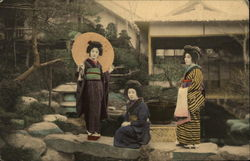 Three Japanese Geishas
