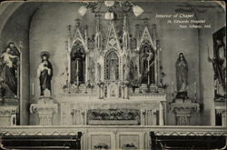Interior of Chapel at St. Edwards Hospital