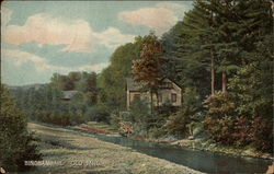 Old Mill Postcard