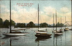 Boats on Genesee River