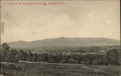 Ossipee Mt. from Diamond Ledge
