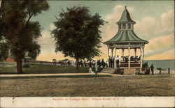 Pavilion at Cottage Hotel Postcard