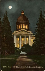 Dome of the State Capitol at Night