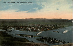 Bird's Eye View of Lewiston