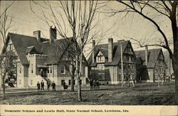 Domestic Science and Lewis Hall at State Normal School