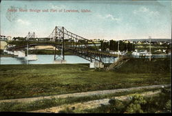 Snake River Bridge and Part of Lewiston
