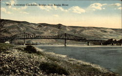 Lewiston-Clarkston Bridge over Snake River