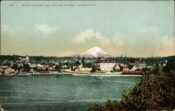 Mount Ranier and City of Olympia