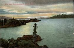 Atlin Lake from Anaconda Mine, Yukon
