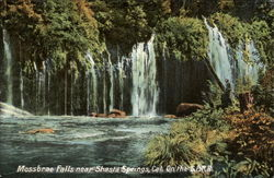 Mossbrai Falls; on the S.P.R.R