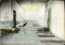 A Section of the Mud Baths, Hot Lake Sanatorium
