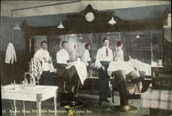 Barber Shop, Hot Lake Sanatorium