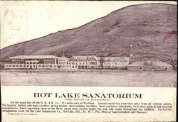 Hot Lake Sanitorium