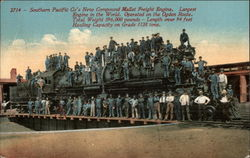 Southern Pacific Co's New Compound Mallet Freight Engine