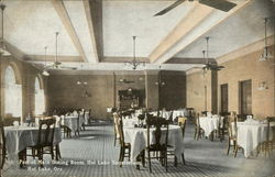 Part of Main Dining Room, Hot Lake Sanatorium