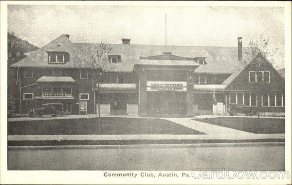 Community Club Austin Pennsylvania