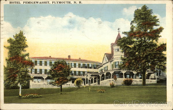 Hotel Pemigewet Plymouth New Hampshire