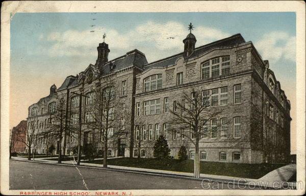 Language In 45 And 47 Stella Street: Barringer High School Newark, NJ