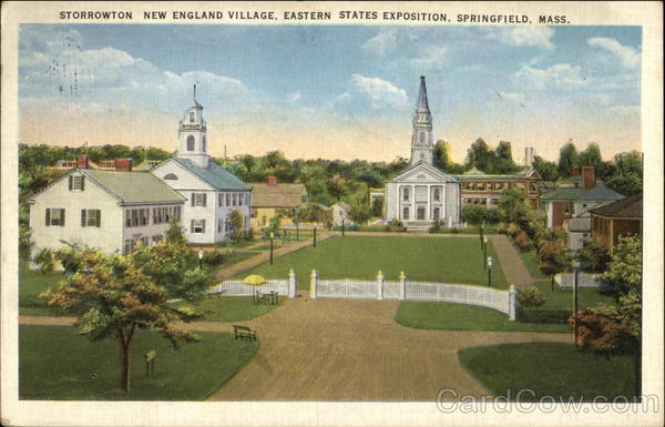 Storrowton New England Village, Eastern States Exposition Springfield Massachusetts