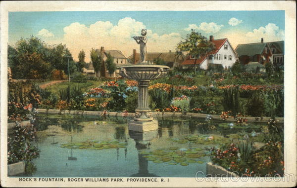 Nock's Fountain at Roger Williams Park Providence Rhode Island