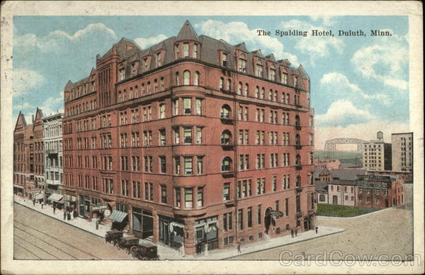 The Spalding Hotel Duluth Minnesota