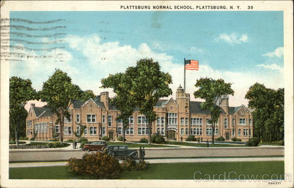 Plattsburg Normal School Plattsburgh New York