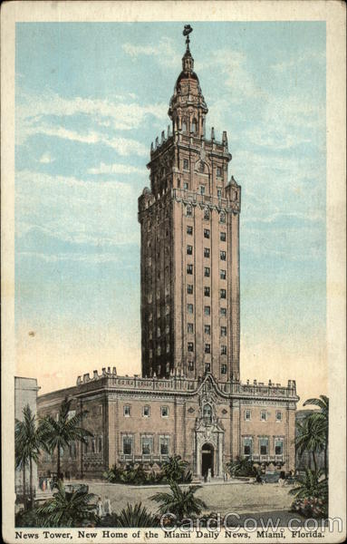 News Tower, New Home of the Miami Daily News Florida