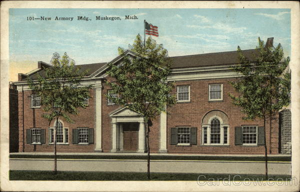 New Armory Building Muskegon Michigan