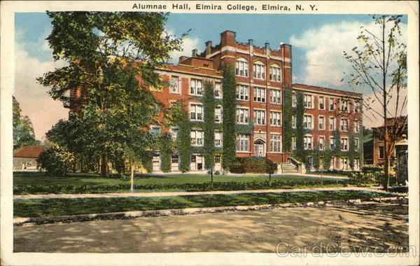 Alumnae Hall, Elmira College New York