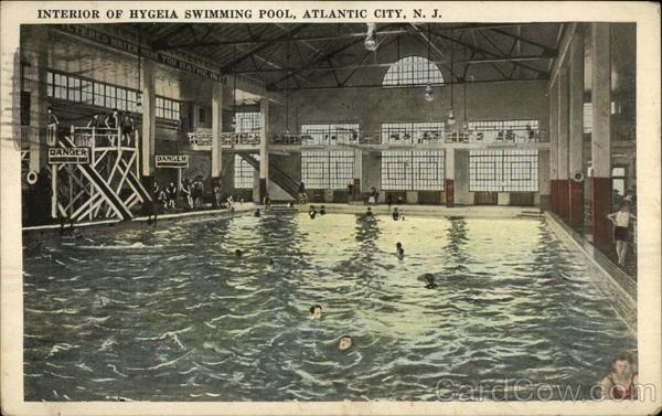Interior Of Hygeia Swimming Pool Atlantic City Nj