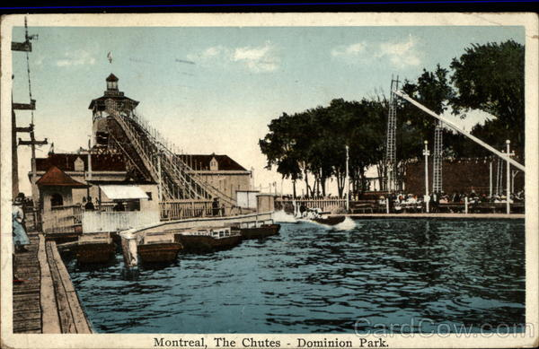 The Chutes, Dominion Park Montreal Canada Quebec