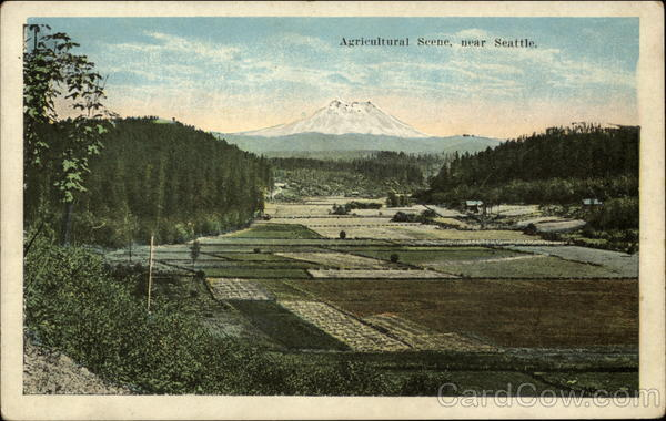 Agricultural Scene Seattle Washington