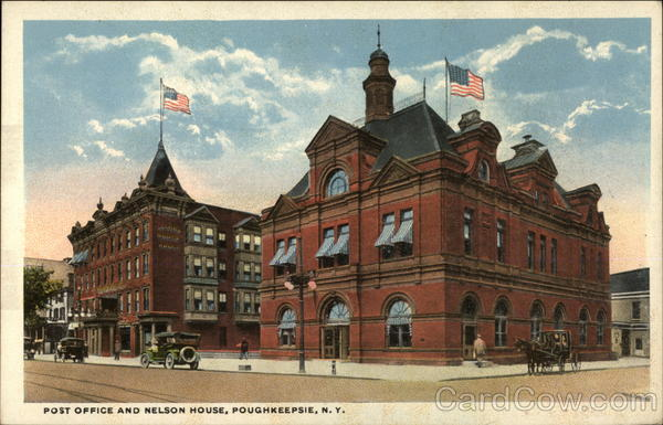 Post Office and Nelson House Poughkeepsie New York