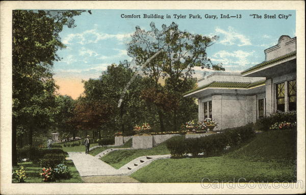 Comfort Building in Tyler Park Gary Indiana Daugherty