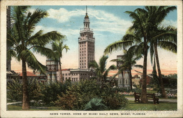 News Tower: Home of Miami Daily News Florida