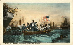 Battle of Lake Erie, Commodore Perry, Sept. 10, 1813