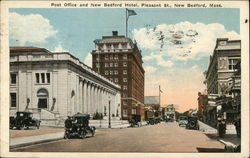 Post Office and New Bedford Hotel, Pleasant St