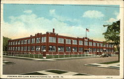 Foreman and Clark Manufacturing Co