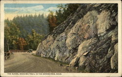 The Rocks, Mohawk Trail Postcard